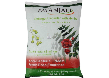 Patanjali Detergent Powder – 2 kg at Rs. 49, 250g Cake at Just Rs.6 discount deal