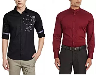 Big Discount – Flat 75% Off On V Dot by Van Heusen Casual Shirt low price