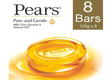 Apply Rs. 55 Off Coupon – Pears Pure and Gentle 125g (Pack Of 8) discount deal