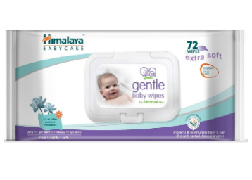Flat 39% Off: Himalaya gentle Baby Wipes 144 Napkins At Just Rs.161 low price