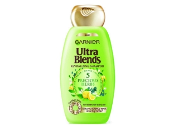 Flat 47% Off On Garnier Ultra Blends 5 Precious Herbs Shampoo, 340ml low price