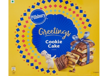 Pillsbury Cookie Cake Greeting Pack, 276g at Just Rs. 99 [12 Pack] discount deal