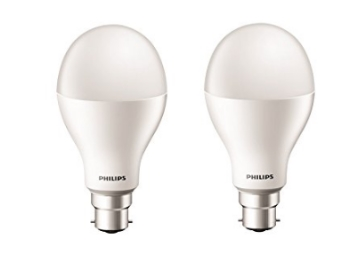 Flat 68% Off On Philips Stellar 17-Watt LED Bulb (Pack of 2) discount deal