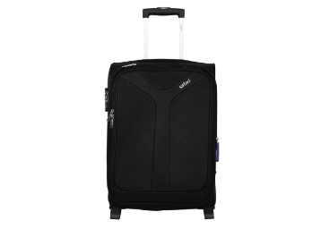 {71% Claimed} Safari Fabric 75 cms Black Soft Side Suitcase low price