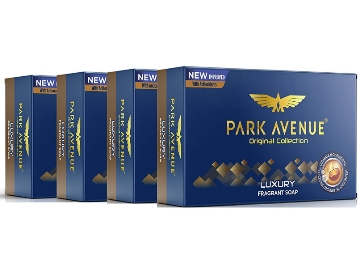 Park Avenue Soap, Luxury, 125g (Buy 3 Get 1 Free) at Rs. 98 discount deal