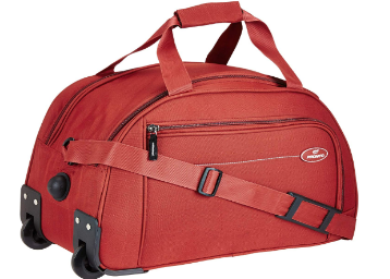 Flat 68% Off: Pronto Cruz Polyester 49 cms Rust Travel Duffle At Rs.755