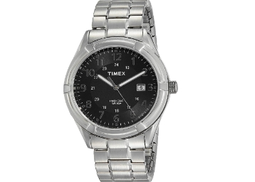 [Rs. 300 Cashback] Timex Analog Black Dial watch at Rs. 1227 discount deal
