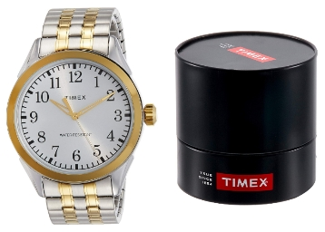 [Flat Rs. 300 Cashback] Timex Analog Silver Dial Men's Watch [3 Left] discount deal