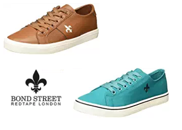 60f0ca8bf2f21 Price Down: Bond Street (Red Tape) Sneakers Flat 80% OFF at ...