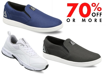 Reebok Walking Tread Shoes at Flat 70% Off + Free Shipping discount deal