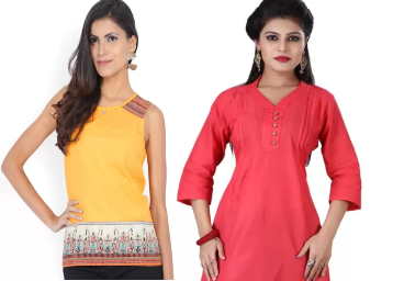 Upto 90%Off: Women Casual Kurti Starts At Rs.135 discount offer