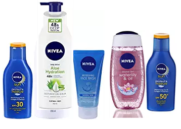 Nivea Products at 40% OFF + 50% Coupon Discount