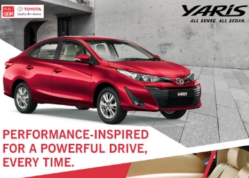 World Class Feature:- Book A Free Test Drive of Toyota Yaris discount deal