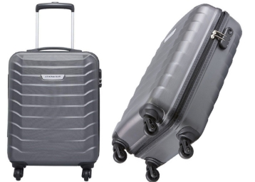 Flat 65% Off on Aristocrat Juke 55.5 cms Sided Carry-On discount deal