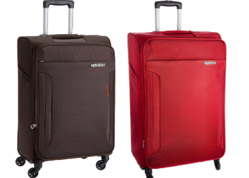 Min 60% Off : American Tourister Softsided Cabin Luggage At Rs.2766