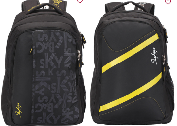 Flat 70% Off: Skybags Printed Laptop Backpack At Rs.435 discount deal