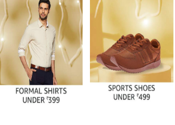 Ends At Midnight- Backpacks, Shoes, Jeans, Shirts Under Rs. 499 + 15% Cashback discount deal