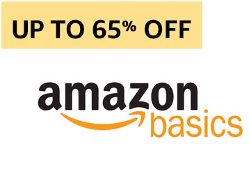 Last Fews Hours: Upto 65% Off On Amazon Basics Deals + Extra 10% Off