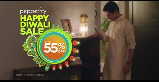 Pepperfry Diwali Sale 2021: Up to 60% OFF and 40% Instant Cashback [Upcoming]