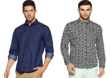 Van Heusen Men's Shirt At Flat 70-80% Off low price