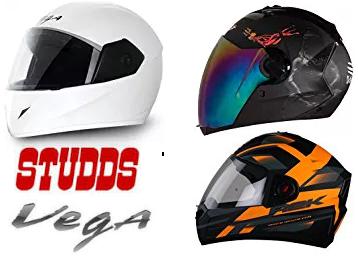Last Day:- Top Brand Helmets Vega, Studds, Steelbirds & More discount deal