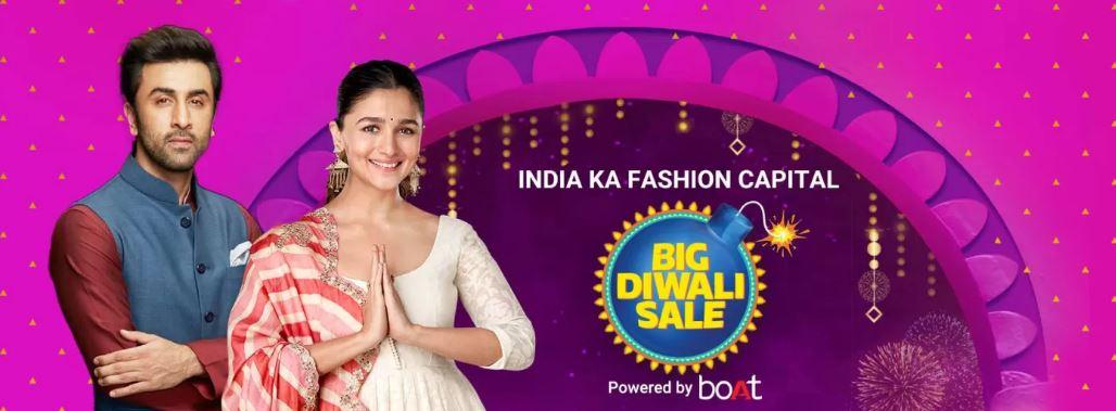 Flipkart Big Diwali Sale on Fashion: Get 60% To 70% Off