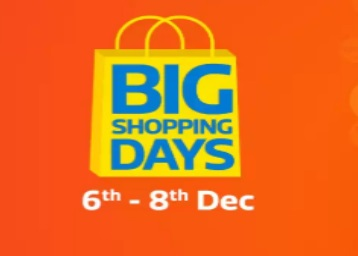 1894808fbf7b53 Flipkart Big Shopping Days Sale 2018  Offers   Upto 80%  6th to 8th Dec