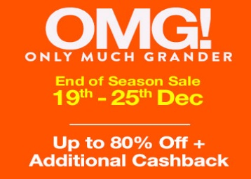 Paytm Mall End of Season Sale - Up to 80% OFF + Extra