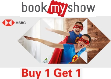 Buy 1 Get 1 Free Movie Ticket With HSBC Credit Card at FreeKaaMaal com