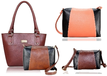 5e7ae07993 Up to 90% Off on Womens Leather Hand Bag From Rs.170 + Free Shipping ...