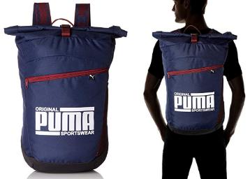 7ded809a32 Flat 76% OFF: Puma Sole Backpack Peacoat at Rs.426 at FreeKaaMaal.com