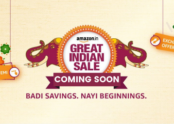 Amazon Great Indian Sale 2020 - Up to 80% Off ( Coming Soon )