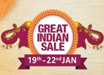 Amazon Great Indian Sale 2020 Upto 90 Off Offers 19 22 Jan