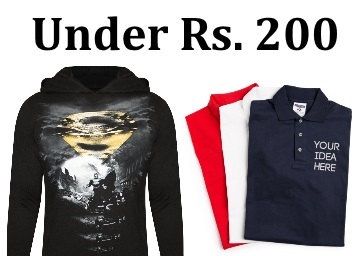 e8356b6b Buy Branded T-Shirts Under Rs 200 at FreeKaaMaal.com