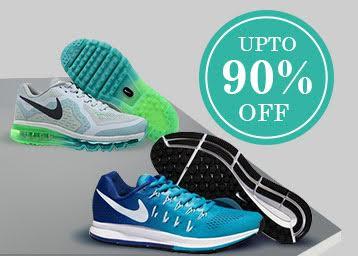 Upto 90% OFF On Reebok, Adidas, Nike