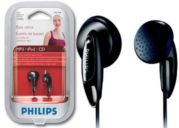 Philips SHE1360/97 In-Ear Headphone (Black) low price