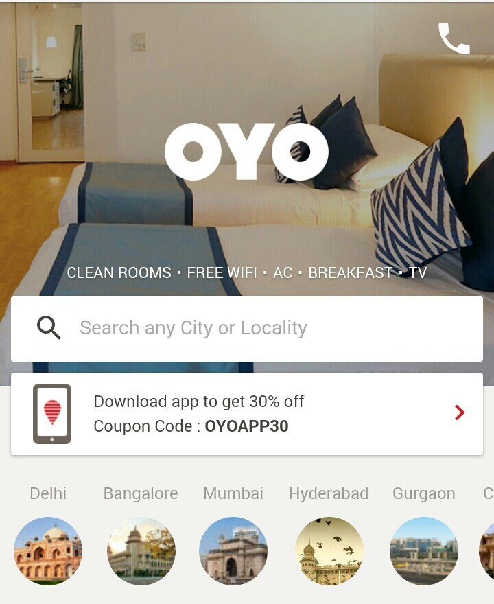 Last Minute Deals! From OYO 60% off at FreeKaaMaal com