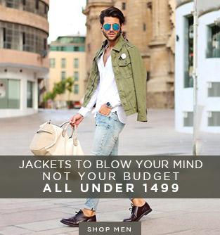 Men's Jackets On Sale {PUMA, Pantaloons, Wildcraft & More}