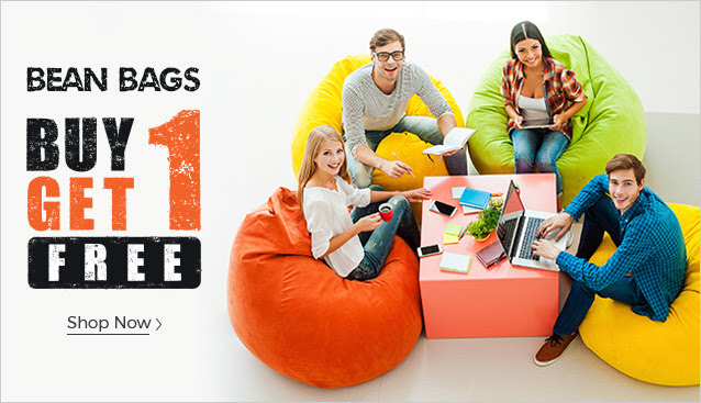 Bean Bags Buy One Get One Free Combo Offers At Freekaamaal Com