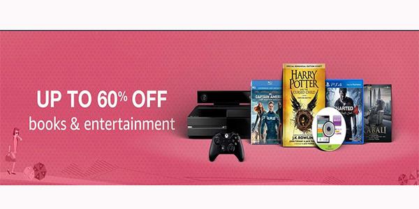 Books & Entertainment Sale @Amazon