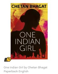One Indian Girl by Chetan Bhagat Paperback English low price