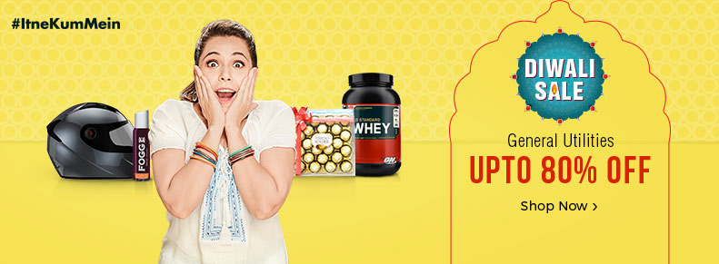 General Utilities – Upto 80% off + bank offers discount offer