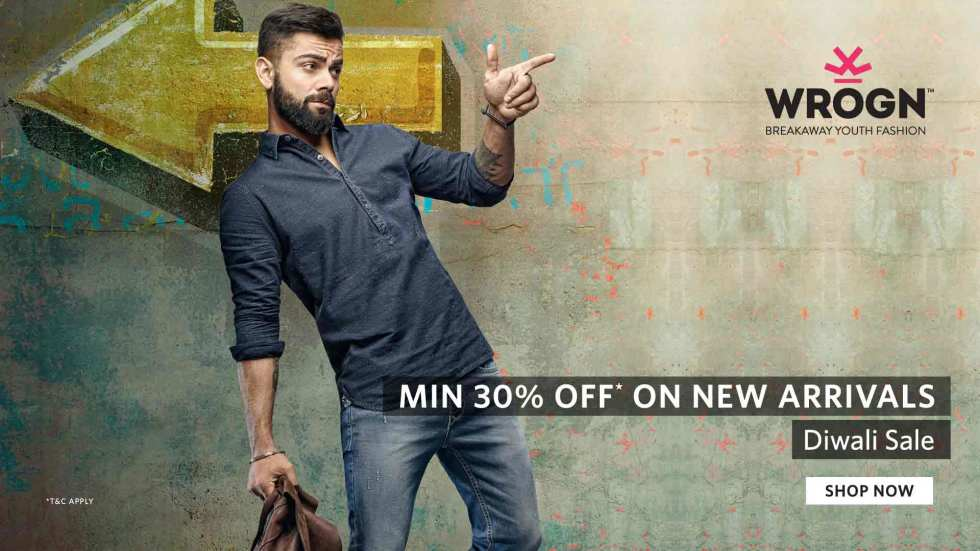 446f6048f70 Wrogn Minimum 30% Off On New Arrival + 15% Cashback at FreeKaaMaal.com