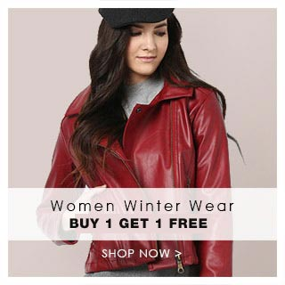 5518ca297 Women Winter Wear Buy 1 Get 1 Free + 25% Off at FreeKaaMaal.com