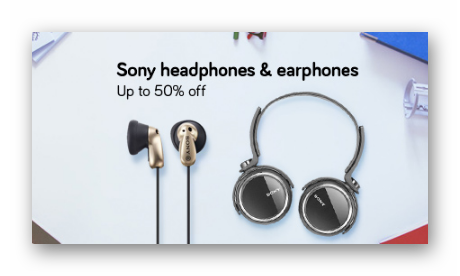 Sony Headphones & Earphones Up To 50% Off|Starting From Rs 399