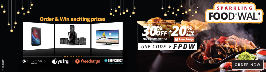 Diwali Campaign – GET Flat 30% Off On Every Order + Extra 20% Cashback + Win Vouchers Daily low price