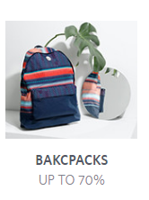 Branded Backpacks at Upto 70% OFF From Myntra