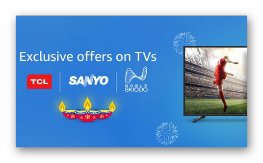 Amazon Exclusive TVs: Get Up to 30% off Or More + Extra 10% Cashback