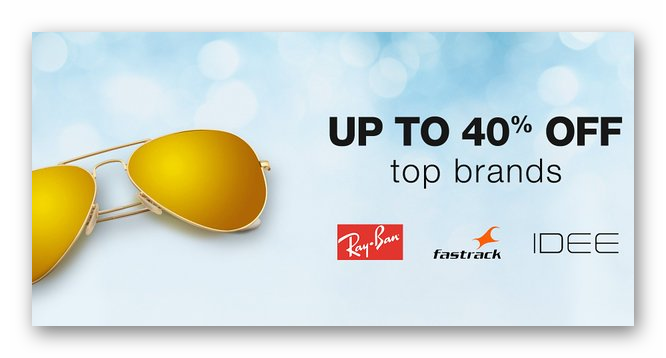 Top Brands Sunglasses {Rayban, Fastrack & More} low price
