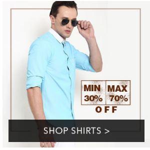 Mens Shirts Sale low price